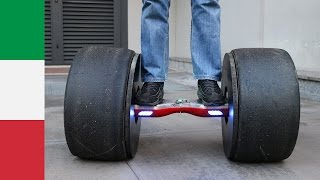 getlinkyoutube.com-Hoverboard with Formula Tires?!?!