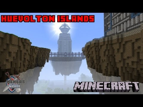 Huevolton Islands Show Around - Minecraft - Miners of The Nexus