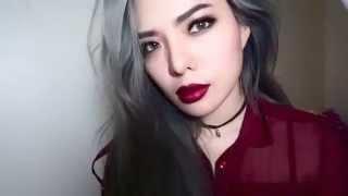 getlinkyoutube.com-สอนแต่งหน้าแบบสาว grunge makeup tutorial สวยดุสุดฮิต