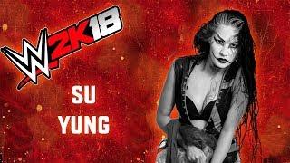 WWE 2K18 Su Yung Showcase & Top 8 Moves
