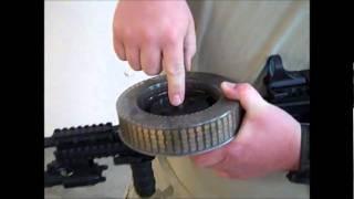 getlinkyoutube.com-Indoor Gun Range Full auto 22.wmv