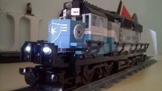 getlinkyoutube.com-Adding Lights to LEGO Maersk Train