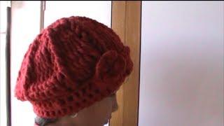 getlinkyoutube.com-Como Hacer Un Gorro En Crochet Ganchillo