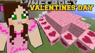 getlinkyoutube.com-Minecraft: LAND OF LOVE CLOUDS! - VALENTINES DAY - Custom Map [2]