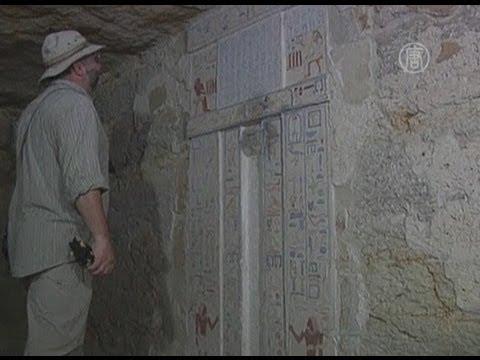 В египетских пирамидах найден тайник принцессы