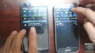 getlinkyoutube.com-Samsung S4 comparacion original vs chino clon EXACTO