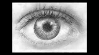 تعليم الرسم | تعلم رسم العين خطوة بخطوة - 6 خطوات