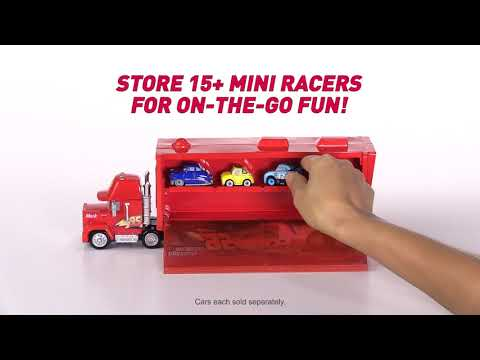 Disney Pixar Cars Mack Transporter Vehicle