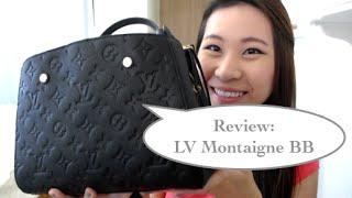 getlinkyoutube.com-Louis Vuitton Montaigne BB review