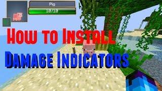 getlinkyoutube.com-How to Install Damage Indicators [1.8]