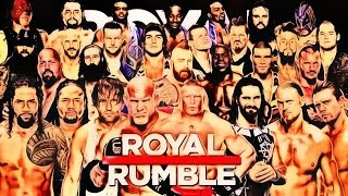 WWE Royal Rumble 2017 Match HD (2K17)