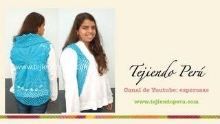 getlinkyoutube.com-Bolero redondo tejido a crochet