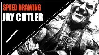 getlinkyoutube.com-Desenhando Jay Cutler Bodybuilder