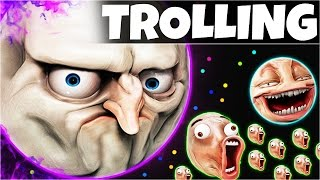 AGARIO Funny Moments | Trolling People In Agar.io #5