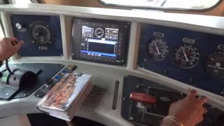 getlinkyoutube.com-[IRFCA] Inside SGUJ WDP4D 40141 Loco Pilot operating the locomotive