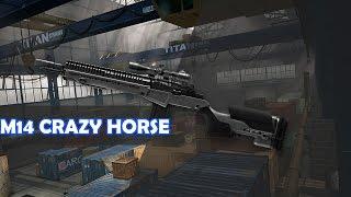 getlinkyoutube.com-Warface - M14 Crazy Horse A ARMA JOGA SOZINHA?