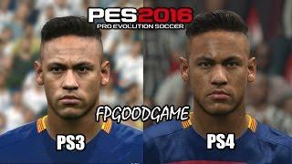 getlinkyoutube.com-PES 2016 PS3 vs PS4 Barcelona Face Comparison