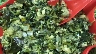 മേത്തി/ഉലുവാ ഇല തോരന്/Methi/Uluva(Fenugreek) Leaves Thoran