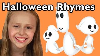 getlinkyoutube.com-Ghost Family and More Halloween Rhymes | Nursery Rhymes from Mother Goose Club!