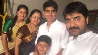 getlinkyoutube.com-Srikanth with wife Uha and Son Roshan Family Unseen personal video