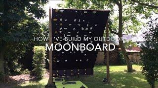 getlinkyoutube.com-How to build an outdoor Moon board - bouldering climbing wall