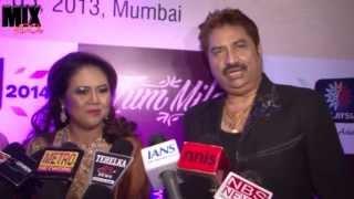 getlinkyoutube.com-Kumar Shanu with Wife on Tum Mile Music Launch