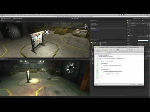Enabling and Disabling Components - Unity Official Tutorials