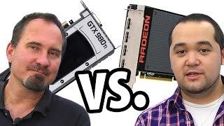 getlinkyoutube.com-Geforce GTX 980 Ti vs. AMD Radeon R9 Fury X | deutsch / german