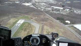 getlinkyoutube.com-Rotorway 180  autorotation viewed from Inside the cockpit