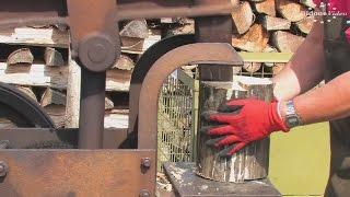 getlinkyoutube.com-Механизмы, для заготовки дров, середины XX века.