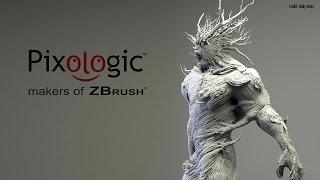 getlinkyoutube.com-3D Modeling Software Demo reel - PIXOLOGIC by makers of ZBrush