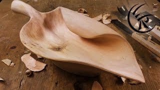"getlinkyoutube.com-Woodcarving ""Fruit Bowl"" ►► Timelapse"