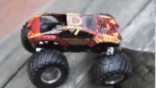 getlinkyoutube.com-Toy Monster Truck Jam