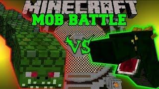 getlinkyoutube.com-NAGA VS BASILISK - Minecraft Mob Battles - Arena Battle - Twilight Forest and OreSpawn Mod Battle