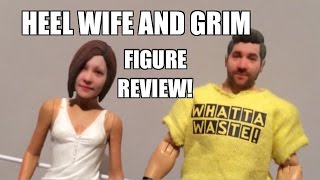 getlinkyoutube.com-GTS ACTION INSIDER: Grim and Heel Wife custom WWE Wrestling Action Figures review