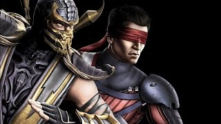 getlinkyoutube.com-Mortal Kombat 9 - Scorpion/Kenshi Tag Ladder (EXPERT)