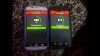 getlinkyoutube.com-Moto X - Jelly Bean vs Kit Kat - Antutu Benchmark