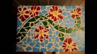 getlinkyoutube.com-How to create a mosaic tile art piece