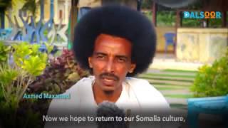 Soomaalida Tima waynayaasha - Somali Men Growing Hair
