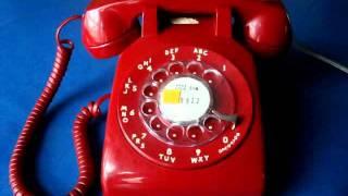 getlinkyoutube.com-Using A Vintage Rotary Dial Telephone