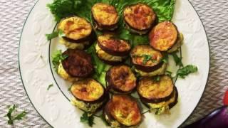getlinkyoutube.com-কিমার পুরে বেগুন ভাজা || Begun Vaja Recipe Bangla || Egg plant recipe Bangla