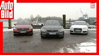 BMW 530d vs Mercedes E350d vs Audi A6 (2017) - Der Dienstwagen-Dreikampf - Review/Test