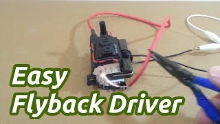 getlinkyoutube.com-Easy Flyback Driver