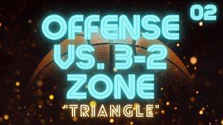 "getlinkyoutube.com-""Triangle"" Offense vs. 3-2 or 1-2-2 Zone Defense"