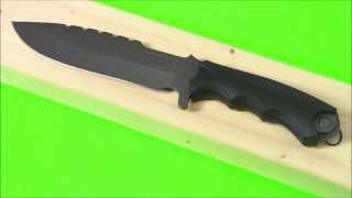 Urban Survival Knife: Schrade SCHF27 Fixed Blade