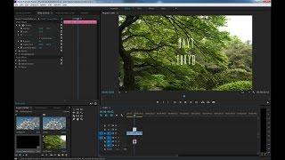 วิธีเอาตัวหนังสือ Title ใน After Effects มาใช้ใน Premiere Pro ง่ายๆแบบยังแก้ไขได้