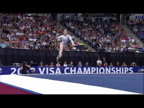 Aly Raisman - Floor - 2012 Visa Championships - Sr Women - Day 2