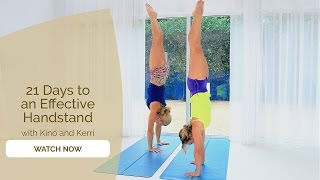 21 Days to Handstand - Start your Yoga and Handstand Journey Now!