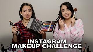 getlinkyoutube.com-Instagram Makeup Challenge - Merrell Twins