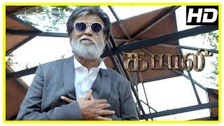 Kabali Tamil movie | Rajini Mass Scene | Radhika Apte | Kishore | Winston Chao | John Vijay | Dinesh